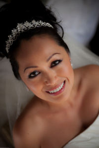 Naturally Beautiful Bridal Makeup and Hair